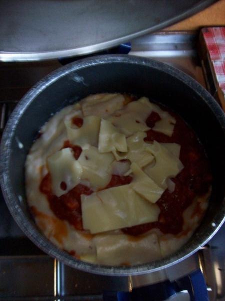 Lasagne uit de pot