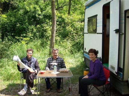 Sloveense camperburen