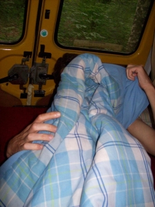Mathieu worstelt met de dekens ... maar ...