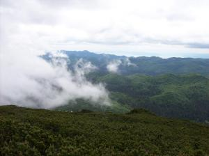 uitzicht vanaf sneznik