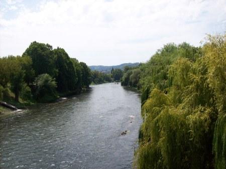 rivier door Banja Luka