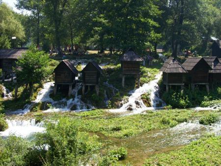 watermolens meer Jajce