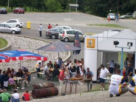 Renaultrace Kozara-natuurpark