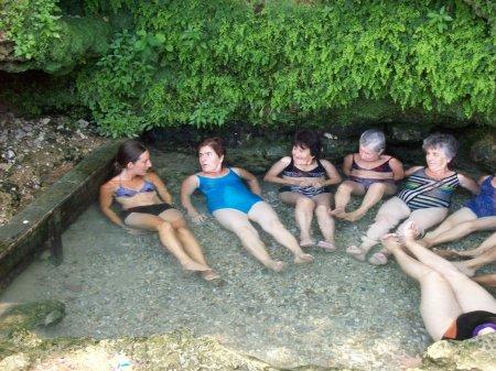 onderonsje in warmwaterbad