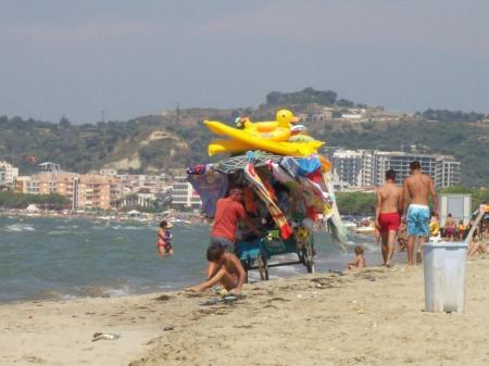 Strandverkoper