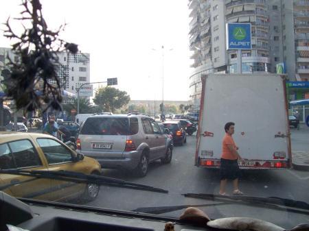 verkeer Tirana