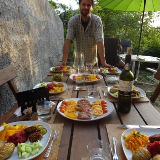 's avonds samen tafelen