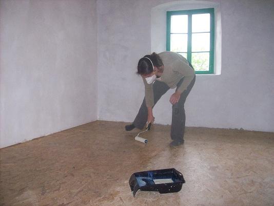 vernissen vloer gastenkamer