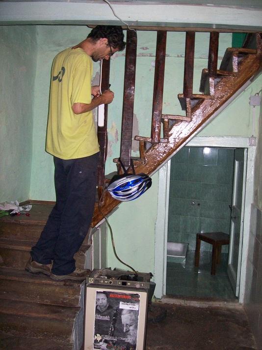 oude inkomhal en trap