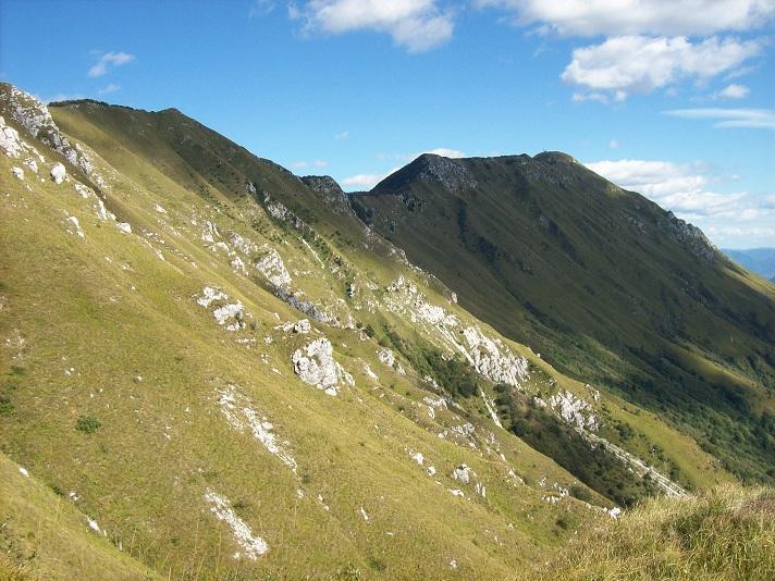 uitnodigende bergkam