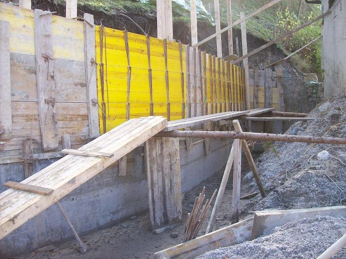 bekisten en beton gieten