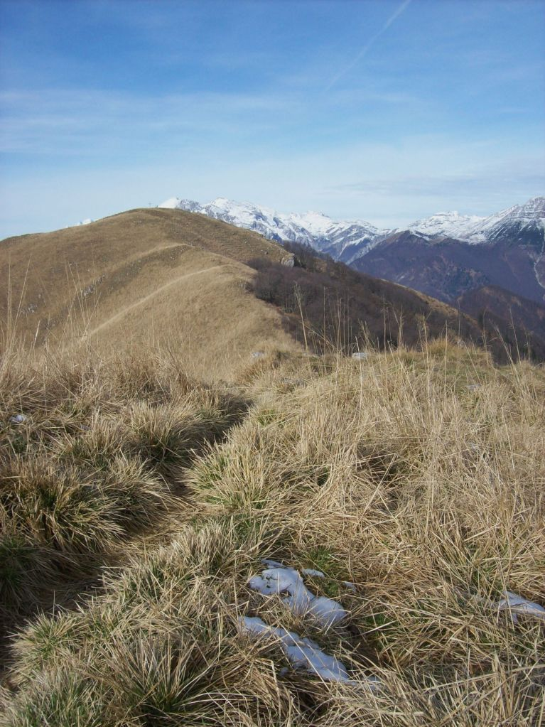 Jalovnik met de eerste sneeuw